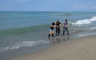 Citizen Scientist ERSE - Scientists along the seashore - Toscana